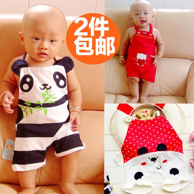 Baby apron newborn bellyached infant 100% cotton summer baby apron full 100% child cotton apron