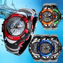 New 2015 Fashion SKMEI Brand Children Watches LED Digital Quartz Watch Boy &Girl Student Multifunctional Waterproof Wristwatches(China (Mainland))