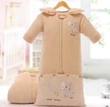 Manta gruesa de algodón natural de dormir para bebés