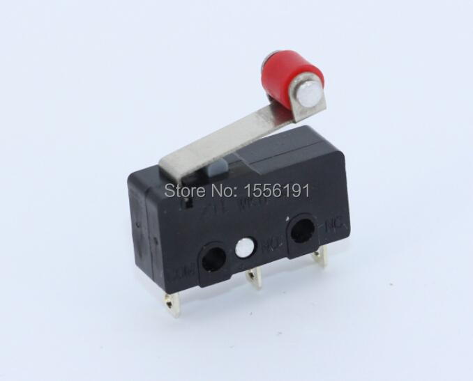 50PCS 3pin All New Limit Switch N O N C 5A250VAC KW11 3Z Mini Micro Switch