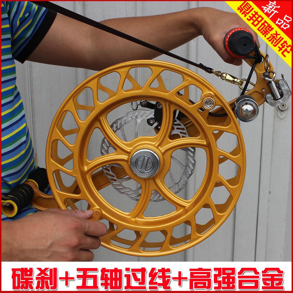 kite suspenders fly reel bearing tools bird controller kite line winder accessories 32cm magnesium alloy disc suspenders wheel(China (Mainland))