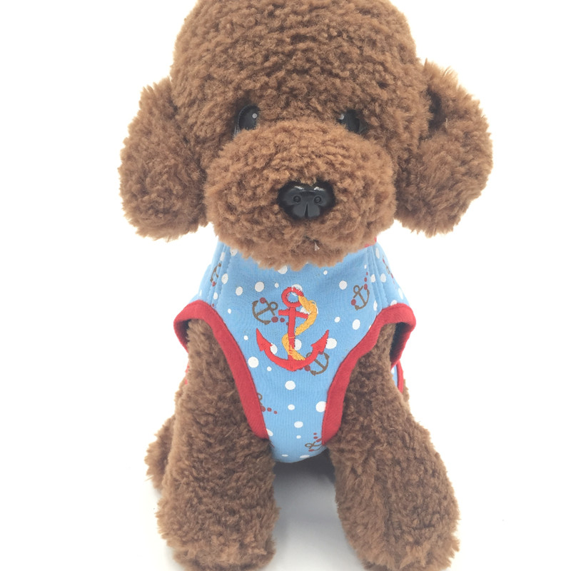 Pet Dog Collar Sailor Style Dog Harness Puppy Clothes Cat Accessory(China (Mainland))