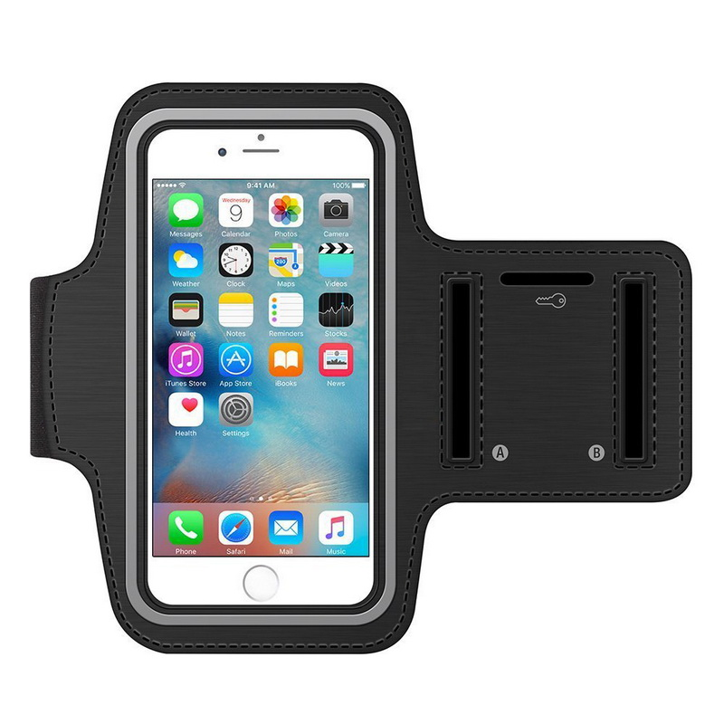 Sports Armband Case for iPhone 5s 6s 6s Plus Bag for Running Sports Mobile Phone Holder Reflective Bracelet Fitness Armband(China (Mainland))