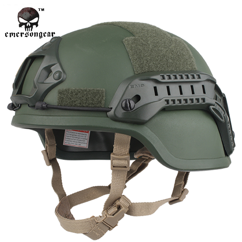 Special Vision EMERSON ACH MICH 2000 Tactical Helmet Airsoft Paintball Emerson Helmet Military Helmet EM8978 8 Colors Options(China (Mainland))