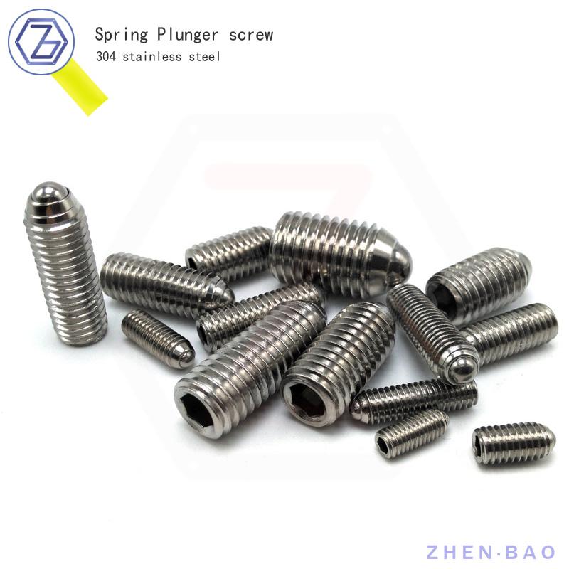 m5*20 , 30pcs ,  hexagon socket set screw , 304 ball set screws 304 Stainless Steel<br><br>Aliexpress