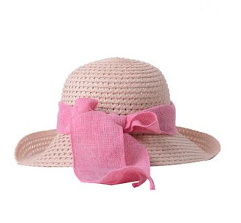 10pcs free shipping/2016-A228 Ms spring Summer Cotton knitted sun hat leisure outdoor cap wholesale(China (Mainland))