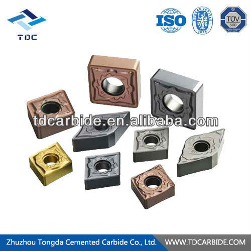china supply carbide inserts for hard rock formations in
