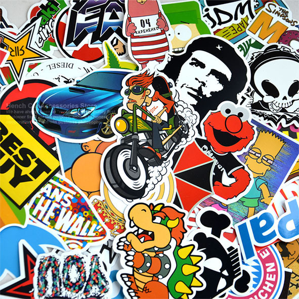 Wholesale Skateboard Stickers Bomb Skateboard Stickers