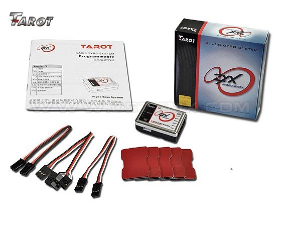 Tarot ZYX01 Programmable 3Axis Flybarless Gyro System Trex 3G FBL Heli Multi free shipping<br><br>Aliexpress