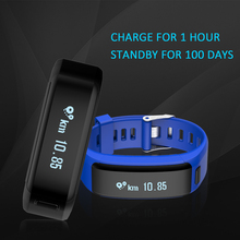 Buy XR01 Smart Bracelet Wristband Fitness Tracker Android Bracelet Smartband Heart rate Monitor PK xiaomi mi band 2 for $30.00 in AliExpress store