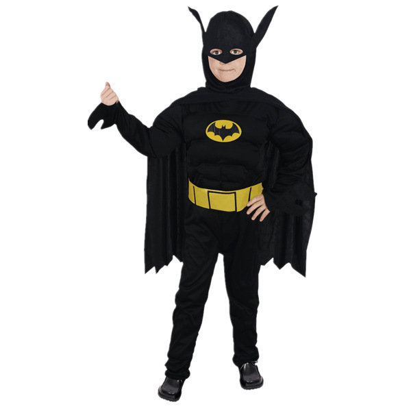 New Masquerade Batman Costumes Halloween Costumes Children's Batman Suit Batman Anime Outfit Performance Clothing(China (Mainland))
