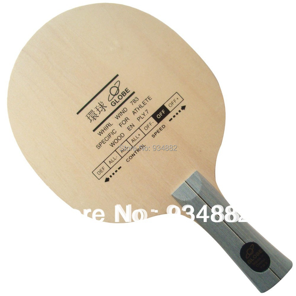 Globe WHIRL WIND 783 Table Tennis (Ping Pong) Blade(China (Mainland))