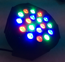 High Quality 12pcs 18x3W LED PAR64 54W RGB LED PAR Stage Lighting for hot selling(China (Mainland))