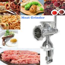 Meat Slicer Cast Iron Manual Meat Grinder Mincer Machine For Home Kitchen Cutter Slicer Beef Useful Practical(China (Mainland))