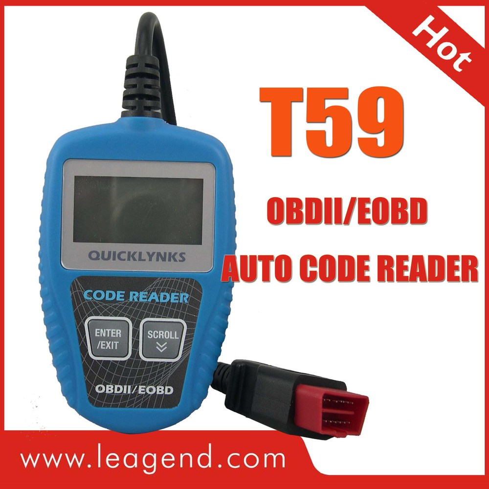 HOT OBD2/EOBD Korean car auto Diagnostic scanner Tool / trouble code reader T59 multilingual ,view live data,free update(China (Mainland))