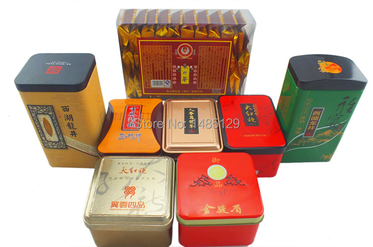 100g Famous Health Care Tea Taiwan Ginseng Oolong Tea Tin box packaging Oolong ginseng tea for