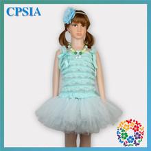 Little Girl Baby Princess Prom Clothes Latest Tutu Dress Designs Flower Girls Party Frock DesignsTutu Dress(China (Mainland))