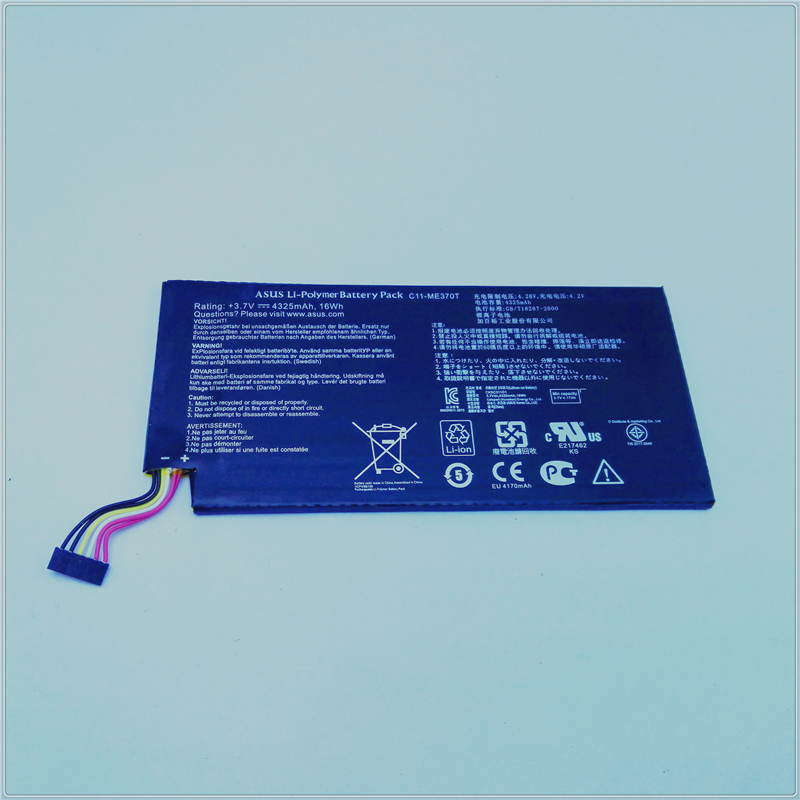 Original Tablet pc Replacement Battery 4325mAh C11-ME370T For Asus Tab Google Nexus 7 Nexus7 2012 Wifi WLAN(China (Mainland))
