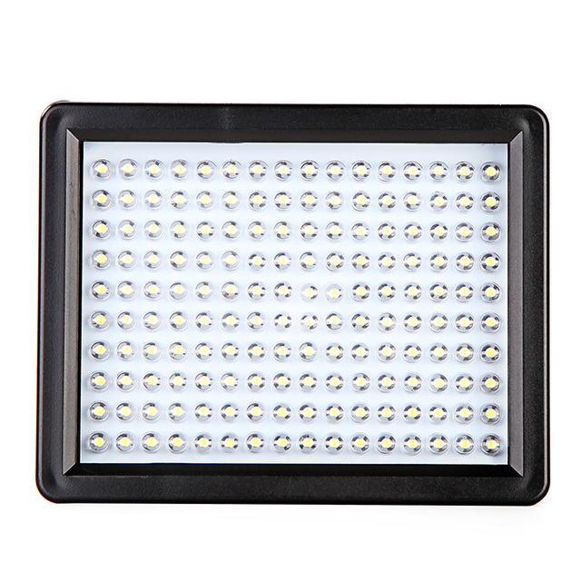 Andoer W160 LED Video Light Lamp 12W 1280LM  5600K/3200K Dimmable for Canon Nikon Pentax DSLR Camera Video light Wholesale