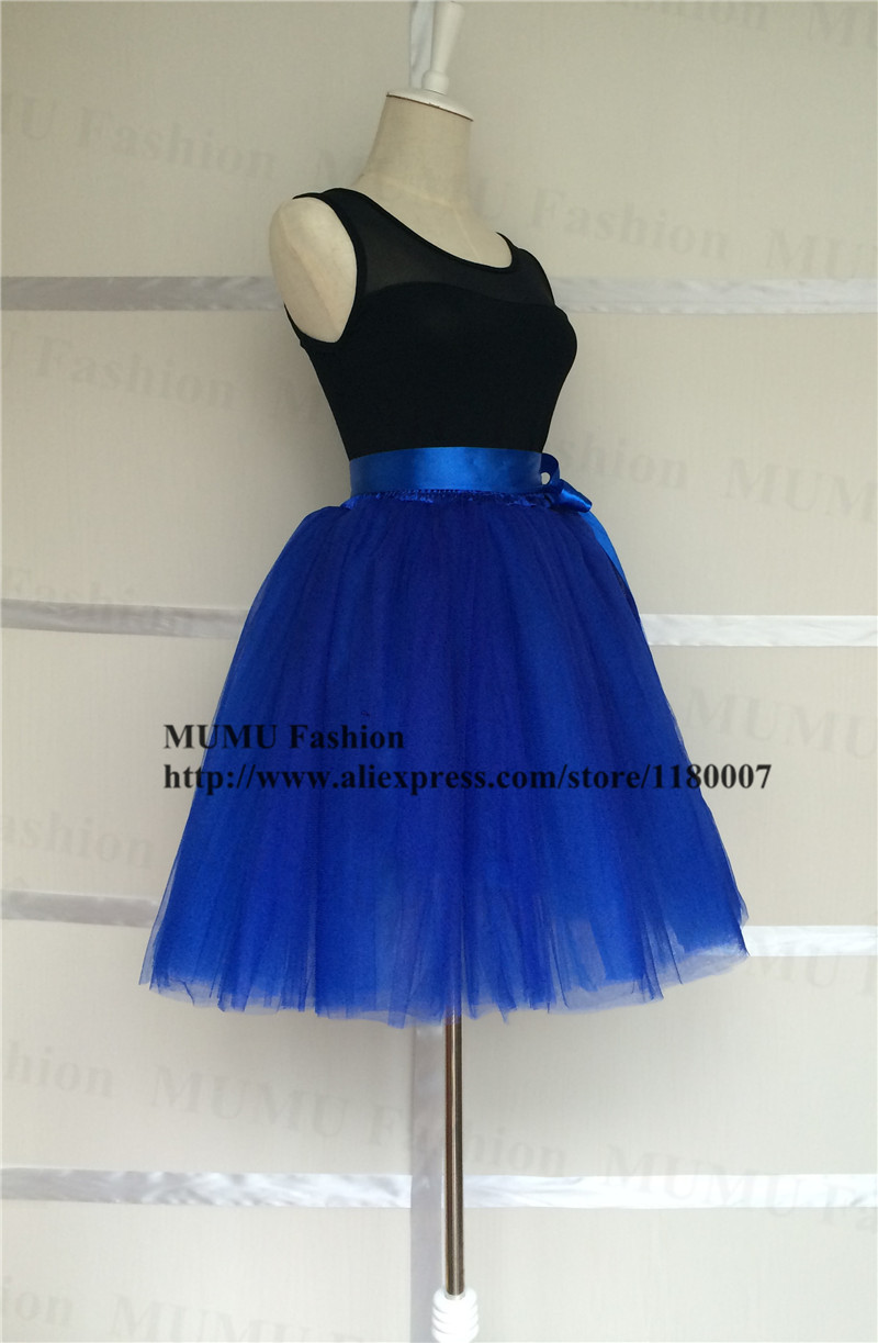 aliexpress buy classic royal blue 8 layers tulle