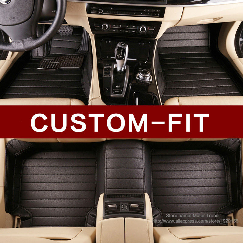 100% Custom fit car floor mats for Mercedes Benz 463 G class 280 320 350 500 G320 G350 G500 G55 G63 AMG car-styling carpet rugs(China (Mainland))