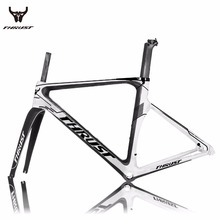 Buy 2017 Top New T800 UD Full Carbon Road Frame Bike Racing Bicycle Frameset Accept Custom Logo Size 48/50/52/54/56cm Quick ship for $407.40 in AliExpress store