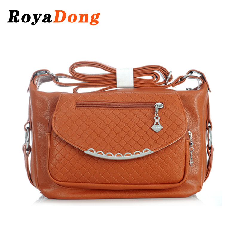 RoyaDong Famous Brands 2016 New Women Messenger Bags Designer Shoulder Bag Casual Crossbody Bag For Women(China (Mainland))