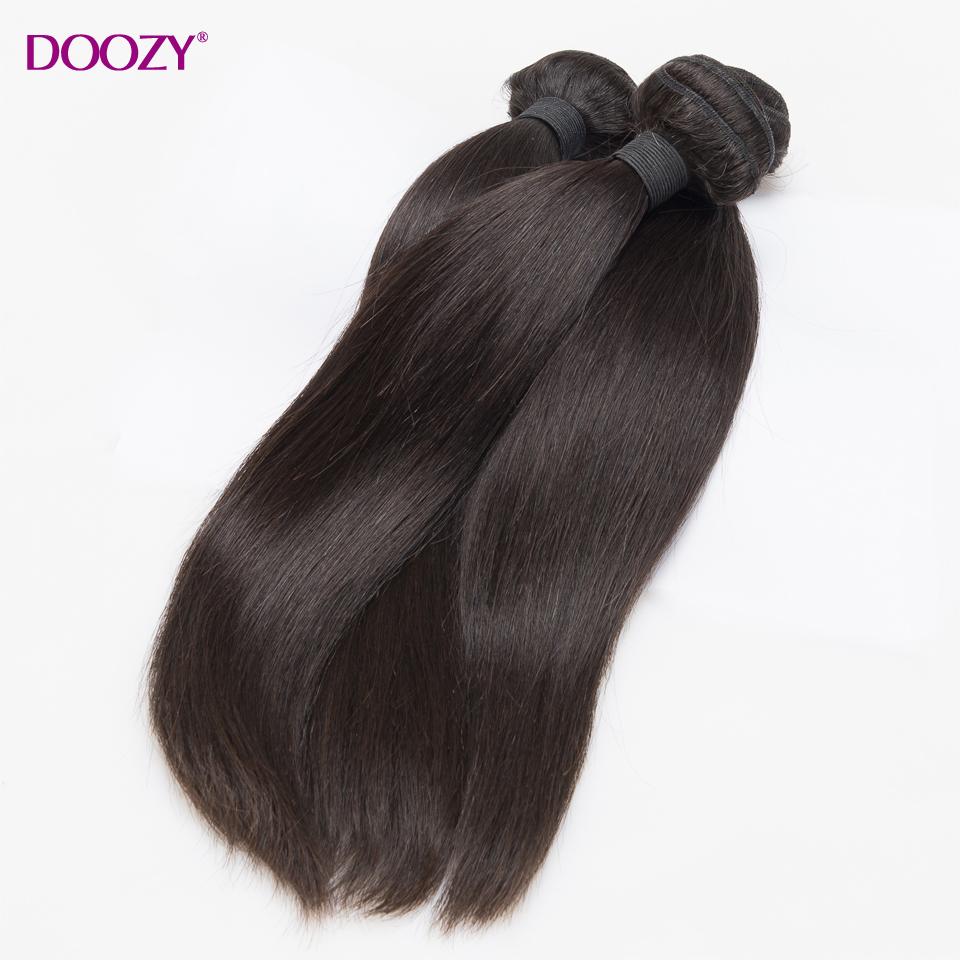 Doozy 10A Unprocessed Brazilian Virgin Hair Straight 4pcs lot Single Donor Cuticle Intact Virgin Human Hair Weaves bundles<br><br>Aliexpress