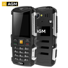New AGM M1 Tri-proof Cellphone 2.0inch 128MB+64MB 2.0MP Rear Camera 2570mAh IP68 Waterproof Dual SIM 3G WCMA Mobile Phone(China (Mainland))
