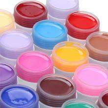2016 New Fashion Pure Colors Gel Nail Polish UV Nail Art DIY Decoration for Nail Manicure 36 Pots