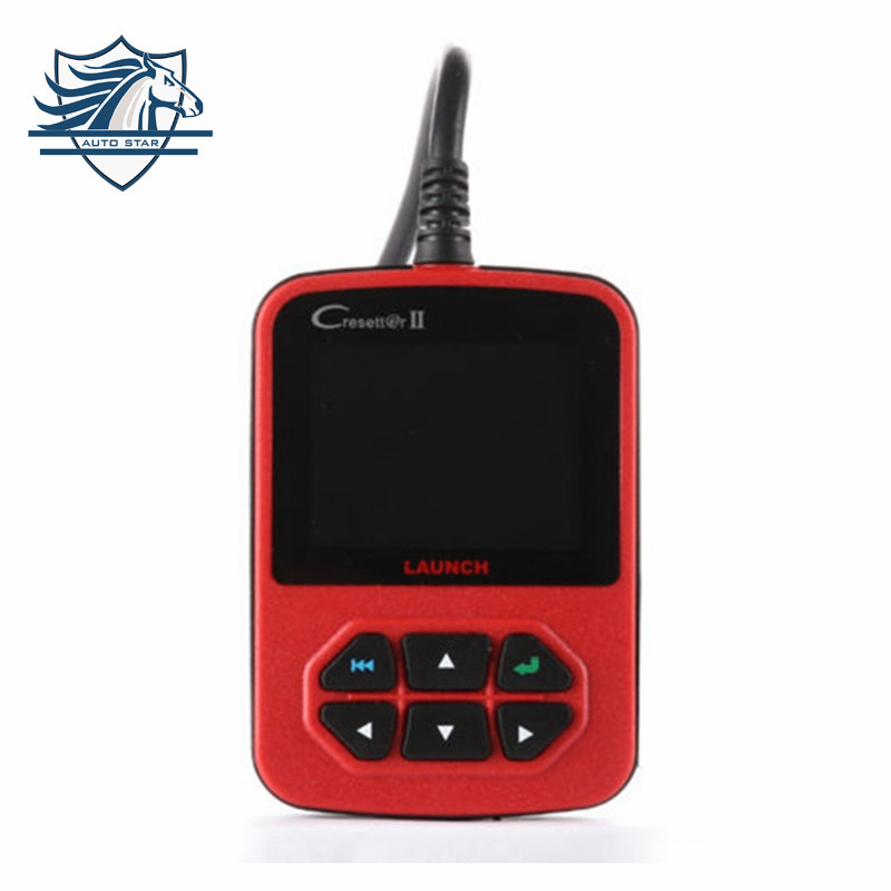 Flash Sale Oringinal OBD II Code Reader Launch X431 CResetter II Oil Lamp Reset Tool Cresetter II Official Update Online Free(China (Mainland))