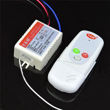1 Way Port 200V-265V Light Digital Wireless Wall Remote Control Switch Electrical Switch Remote