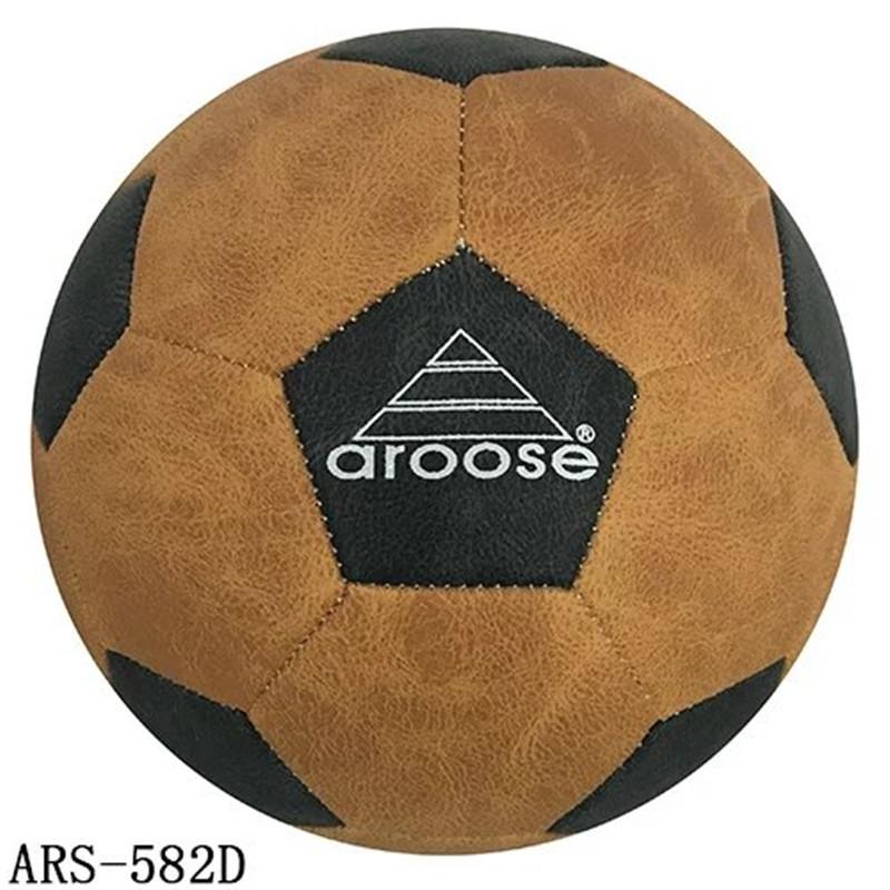High Quality Soccer Ball Street Soccer Ball Leather football ball size 5 futebole For Hard Groud(China (Mainland))