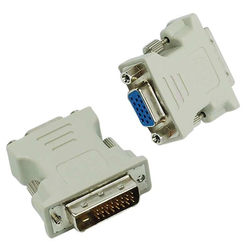 VGA 15 Pin Female to DVI D Male Adapter Converter LCD HB88