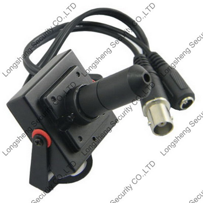 Mini 9 Degree 30mm Pinhole Lens CMOS 1000TVL Security CCTV camera 36*36mm