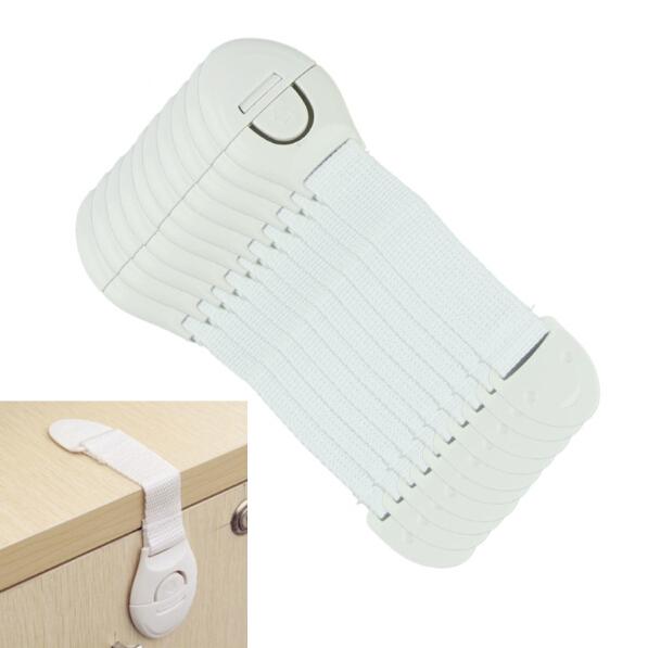 10 шт./лот дверь шкафа ящики холодильник безопасности туалет Lock для ребенка Kid детская безопасность лучшее предложение 1 упак. UD07