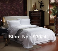 Hotel supplies Bedclothes Bedsprea Bedding set Bedding King/Queen size100%Cotton 60S Satin Bed linen Bed Sheet Bedding Bag 4pcs(China (Mainland))