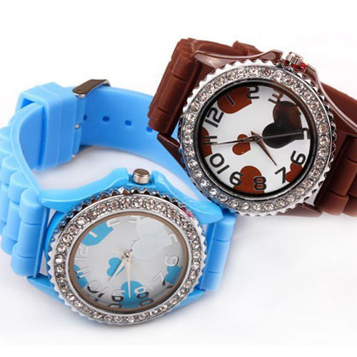 love cartoont watches fashion designer watches women hours electronic watches children's hours gifts free shipping