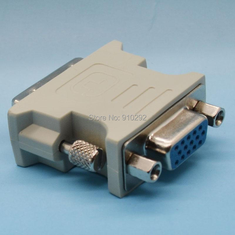DVI-I 24+5 Pin Male 15 VGA Female ATI DVI Adapter Convertor - Icablelink Electronics Limited store