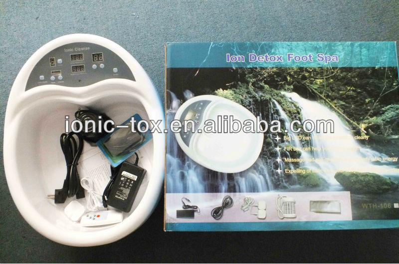 Health and beauty spa WTH-103 Ion foot bath detox machine(China (Mainland))