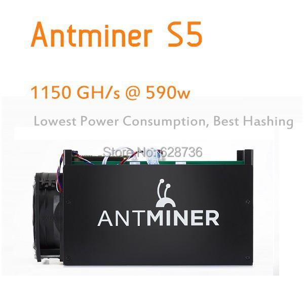 Bitcon Miner Antminer S5 1TH Asic Miner 1150GH Super Btc Miner Better Than Dragon Miner and Antminer S4<br><br>Aliexpress