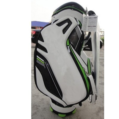 "2014 TM Green Golf Bag Men 9.5"" 4 Dividers Standard Ball Bag(China (Mainland))"