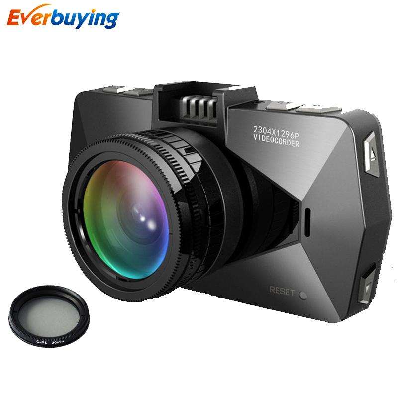 A7810 Car DVR Camera Ambarella A7LA70 Registrar Dash Cam FHD 1080P 60FPS with GPS Tracker Speedcam