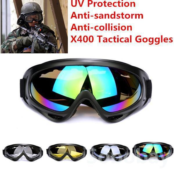 Гаджет  Brand New X400 UVA/UVB Protection Men Women Outdoor Sport Windproof Glasses Ski Snowboard Goggles Dustproof Motocross Glasses None Спорт и развлечения