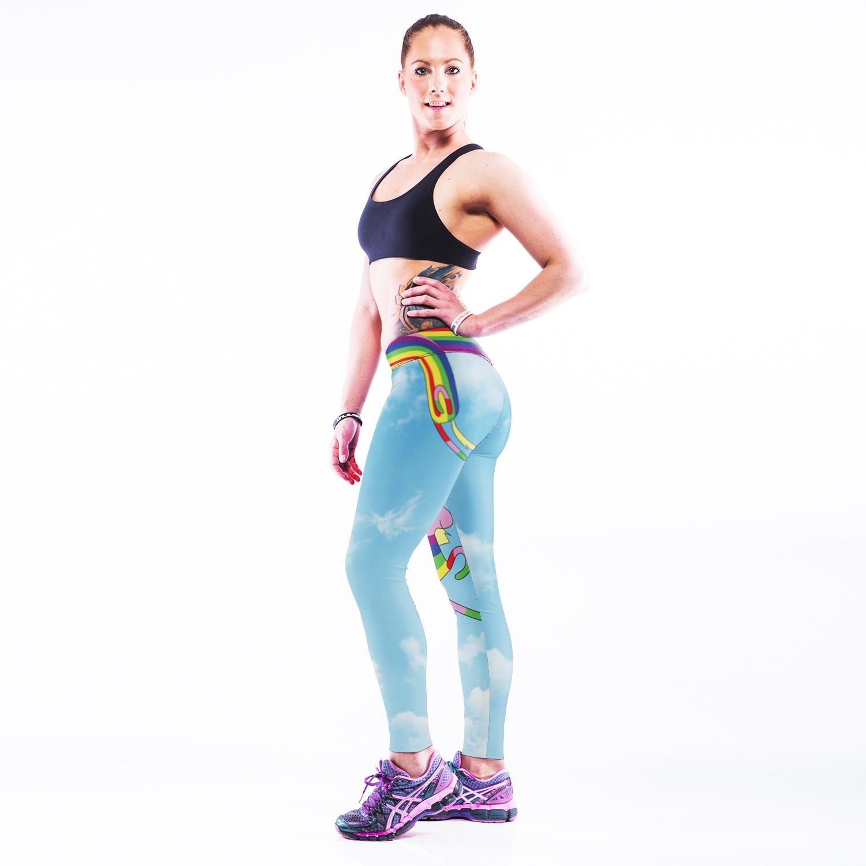 3D Printed Leisure Cartoon Leggings