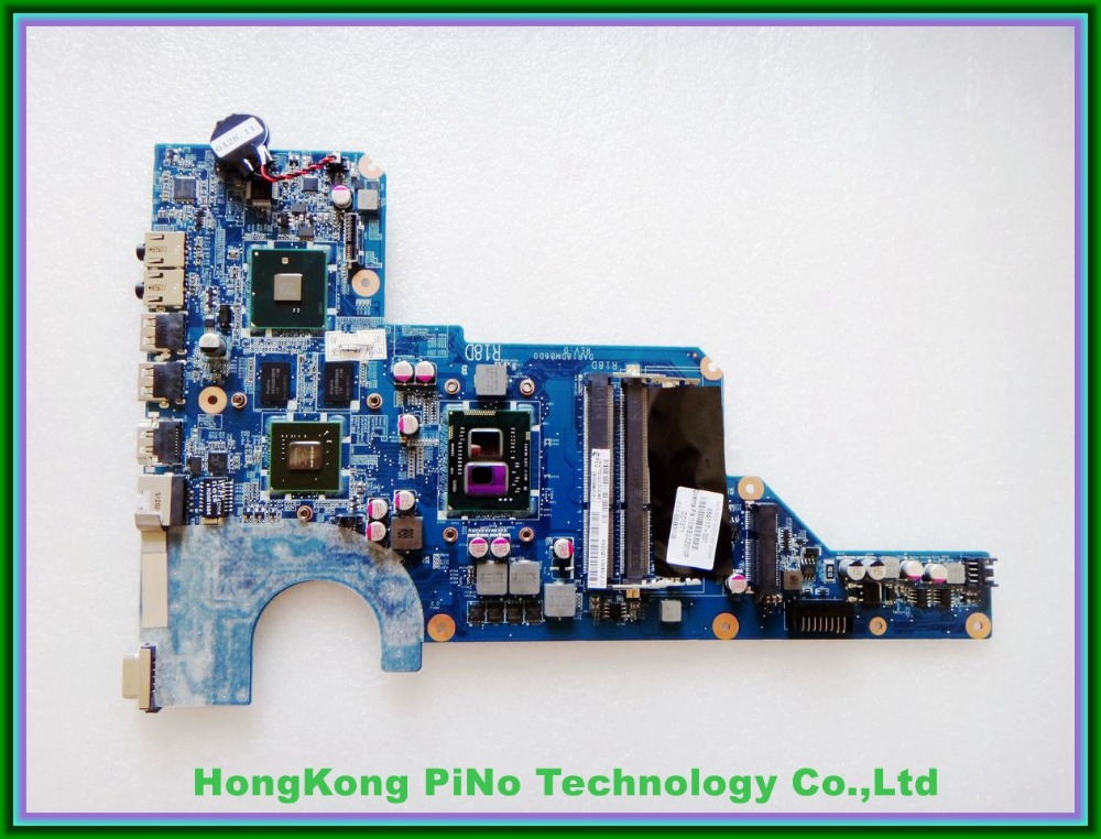 Offer 654117-001 motherboard 654117-001 for hp G4 G6 motherboard DAR18DMB6D0 with cpu I3-370M HM55 520M/1G 100% Tested<br><br>Aliexpress