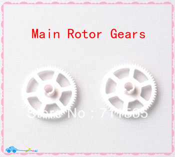 V922-9 Main Rotor Gears / Principal Gears Spare Parts For Hisky HCP100S HCP100 WLToys V922 2.4G 6Ch Flybarless RC Helicopter