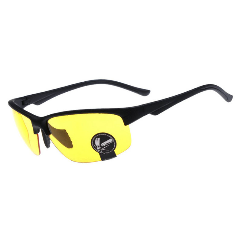 2016 Cool Trendy HD Night Vision Glasses High Definition Driving Yellow Lens Glasses 58(China (Mainland))