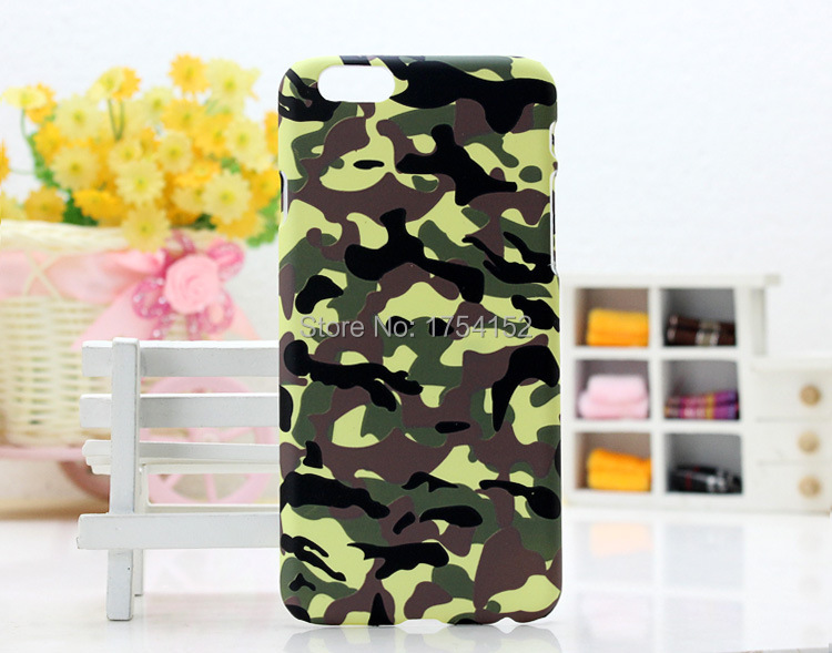 Camouflage Luminous Scrub Plastic Hard Back Cover Cases for iPhone 4S 5S 6 4.7'' and 6 Plus 5.5'' 50pcs/lot DHL Free Shipping(China (Mainland))