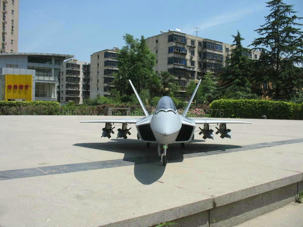 RTF Upgrade Version / RC F22 Jet plane F-22 / Upgraded to Metal EDF / makes the nozzle thrust more powerful!(China (Mainland))
